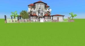 Litle castle house poster