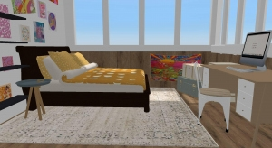 aesthetic bedroom poster