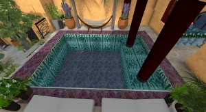 Riad Pool Eight Rooms Correct Pool 2 poster