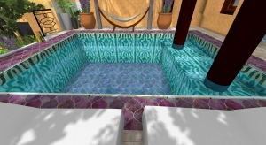 Riad Pool Eight Rooms  Marrakech room 2 poster