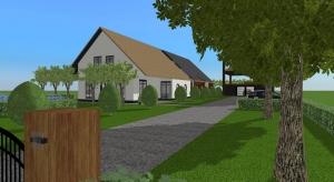 Dutch modern farm house 21 poster