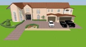 Florida mansion            poster