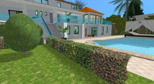 luxury dream home poster