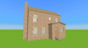 Small Empty British Countryside Cottage poster