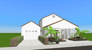 Renovated-Belmar Beach house poster