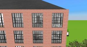 Warehouse conversion loft apartments poster