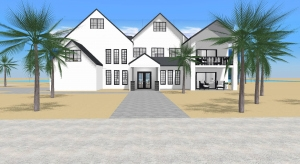 Beach home poster