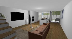 modern home poster