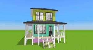 Beach house 1 poster