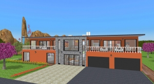 4 bedrooms house poster