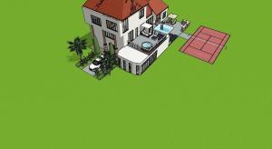Mega future house poster